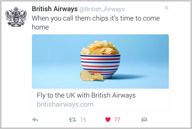British Airways are using their customer data!
